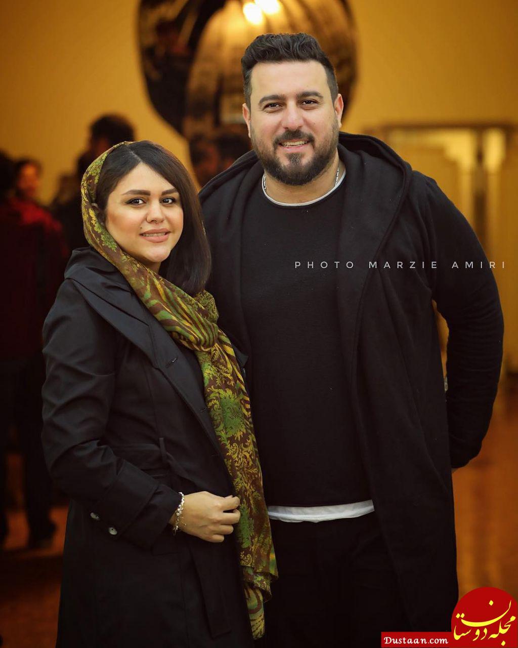 www.dustaan.com تصویری زیبا از محسن کیایی و همسرش