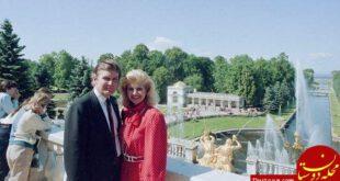 عکسی دیده نشده از ترامپ و همسر اولش+ عکس