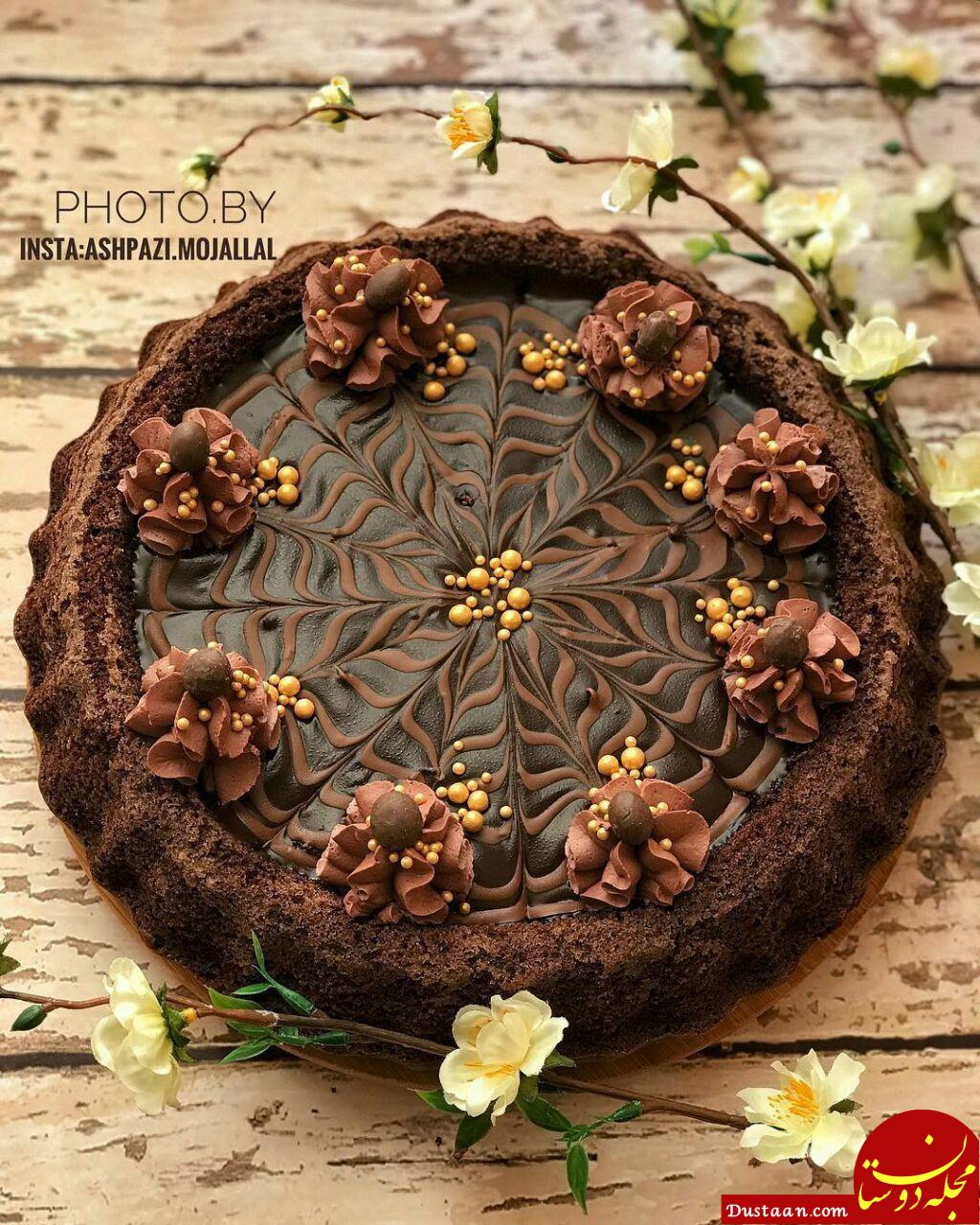 www.dustaan.com طرز تهیه کیک نوتلا به سبکی خوشمزه