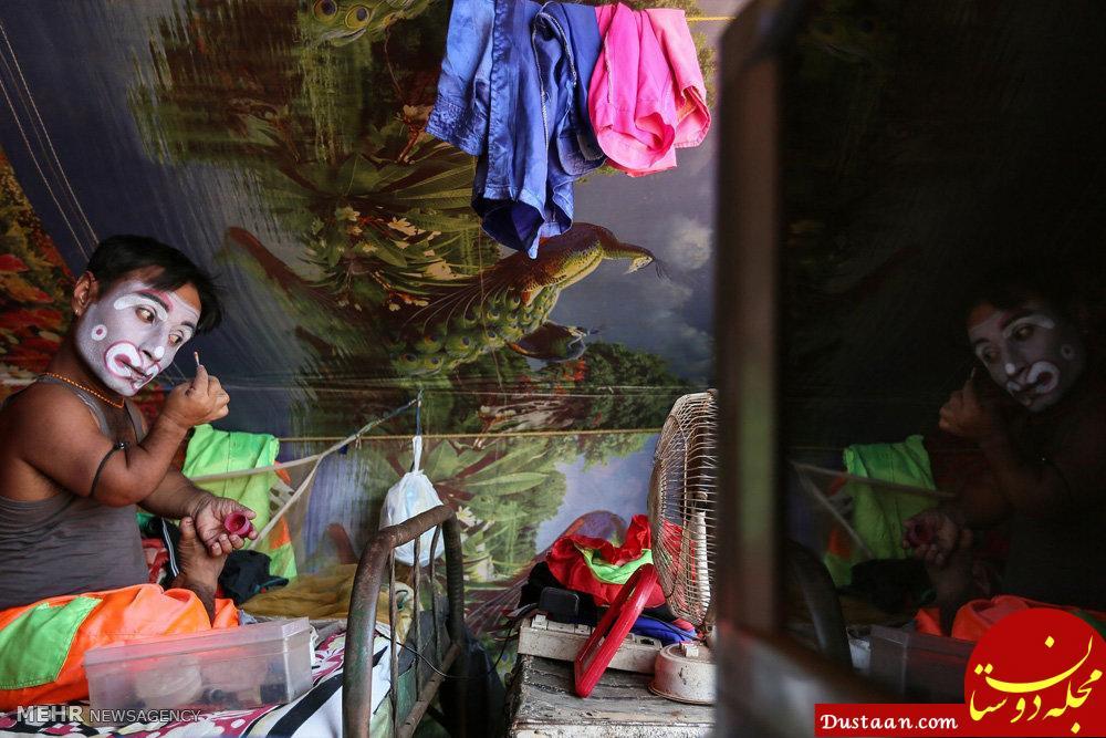 www.dustaan.com تصاویری جذاب از سیرک رمبو در هند