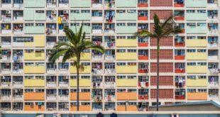 مجتمع رنگین کمان هنگ کنگ + عکس