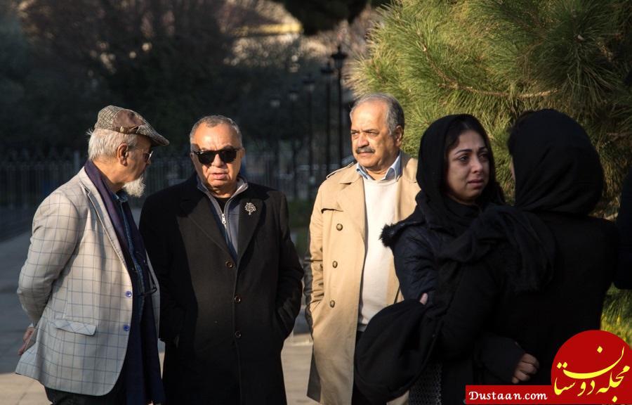 مراسم تشییع علی رامز با حضور چهره های سرشناس +تصاویر