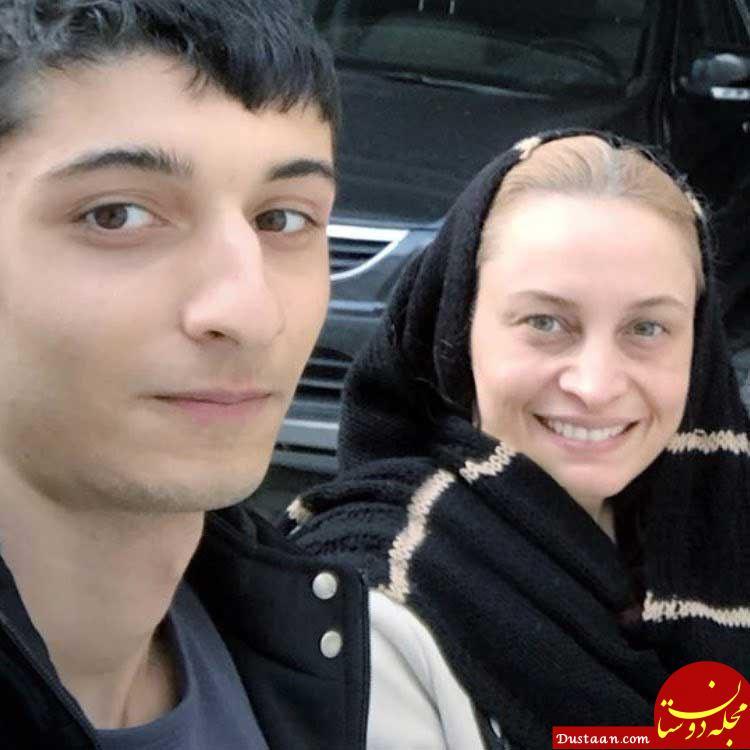 بیوگرافی و عکس های مریم کاویانی ،همسرش رامین مهمانپرست و پسرش علی