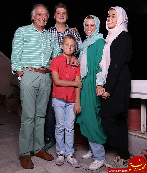بیوگرافی احمد نجفی / عکس های احمد نجفی و همسر روسی اش