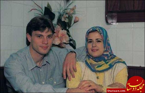 www.dustaan.com سرمربی خارجی تراکتورسازی و همسر محجبه اش +عکس