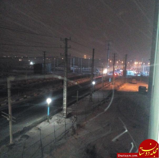 www.dustaan.com بارش برف در تهران / محور هراز به دلیل کولاک مسدود شد +تصاویر