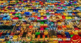 بازار شب بانکوک در عکس روز نشنال جئوگرافیک