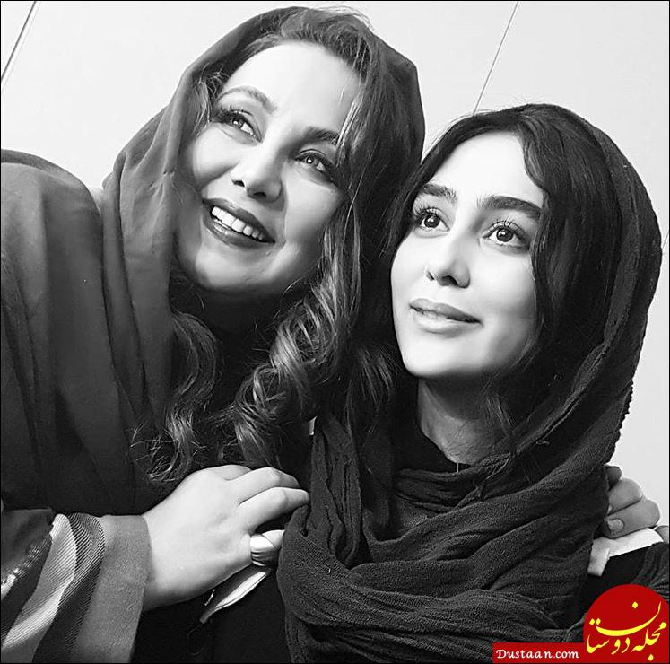 www.dustaan.com بهنوش بختیاری و ستاره حسینی در نمایی از فیلم «آرینا» +عکس