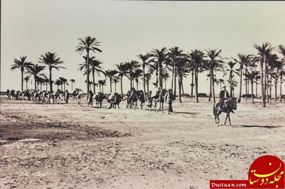 www.dustaan.com نحوه حمل نفت 100 سال پیش! +عکس