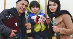 بیوگرافی و عکس های دیدنی حمیدرضا آذرنگ ،همسرش ساناز بیان و پسرش بامداد