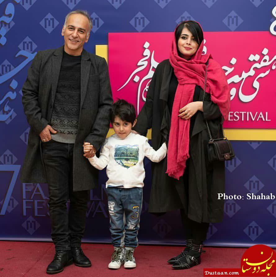 www.dustaan.com حمیدرضا آذرنگ | بیوگرافی و عکس های حمیدرضا آذرنگ ،همسرش ساناز بیان و پسرش بامداد