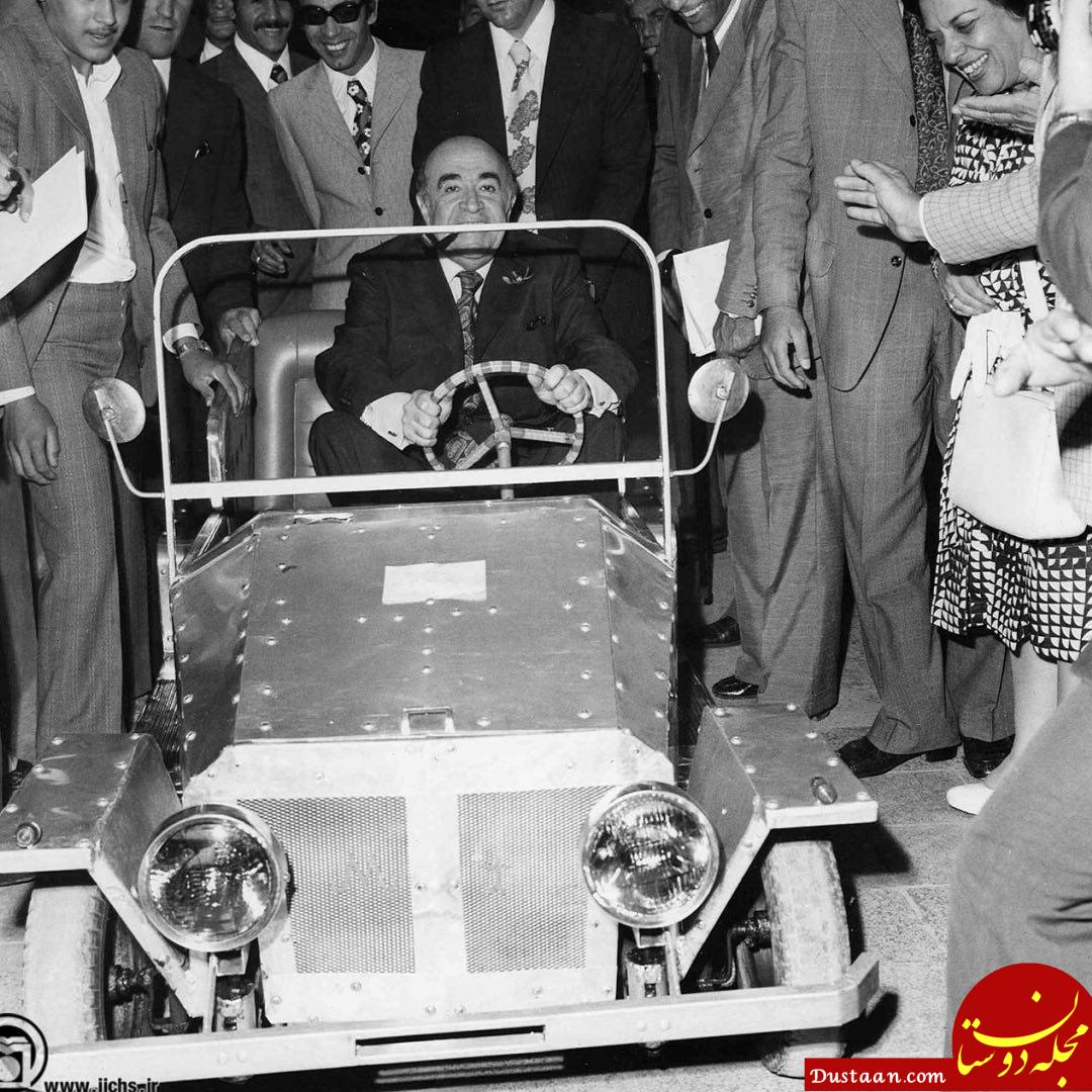 www.dustaan.com اولین خودروی ساخته شده در ایران! +عکس
