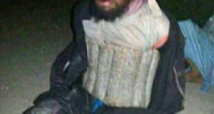 داعشی بازداشت شده در حمله تروریستی امروز کابل +عکس