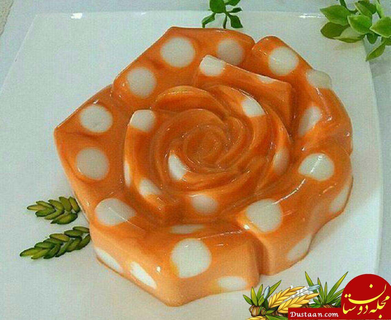 www.dustaan.com طرز تهیه دسر هویج به سبکی خوشمزه