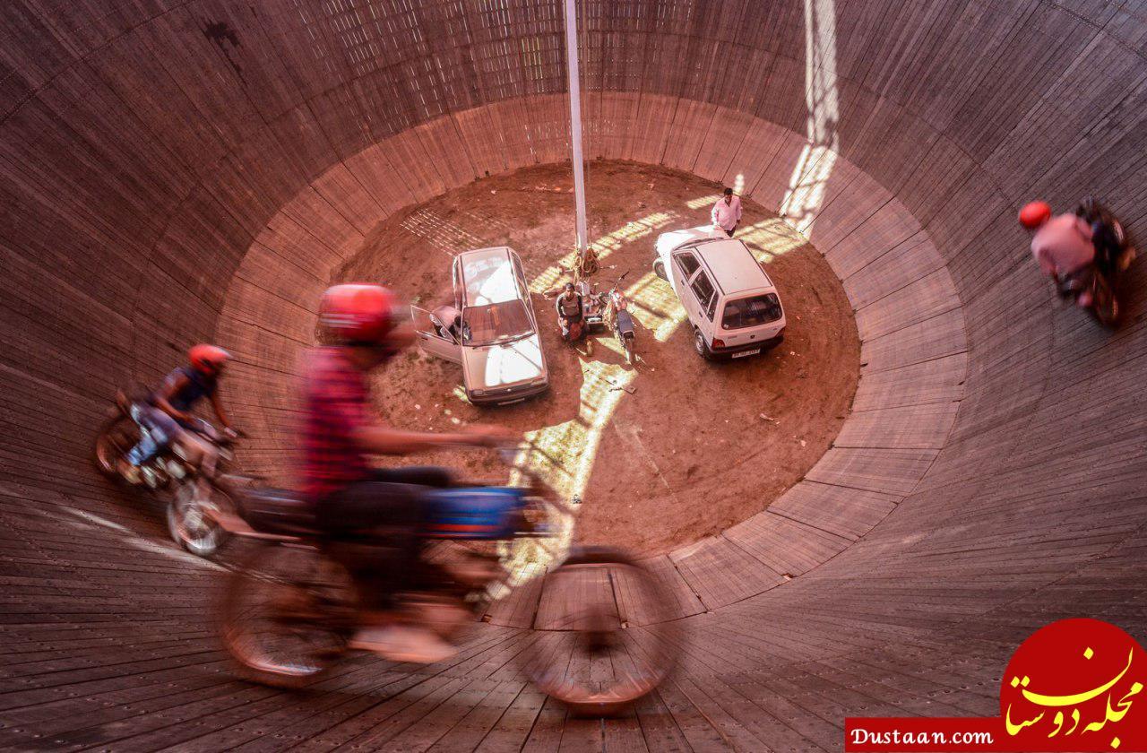 www.dustaan.com دیوار مرگ در عکس روز نشنال جئوگرافیک