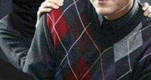 رحیم نوروزی و دخترش پناه در یک قاب