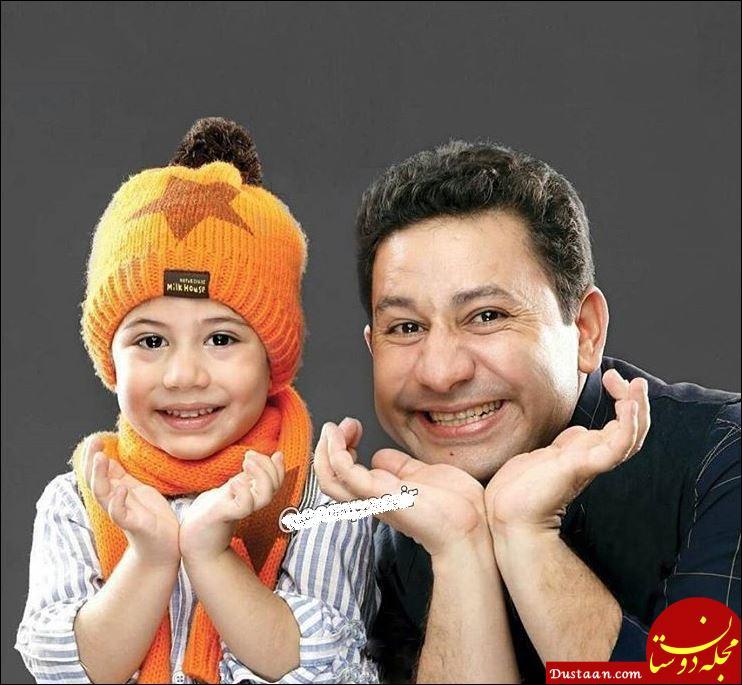 www.dustaan.com چهره خندان سروش جمشیدی و پسرش سیاوش +عکس
