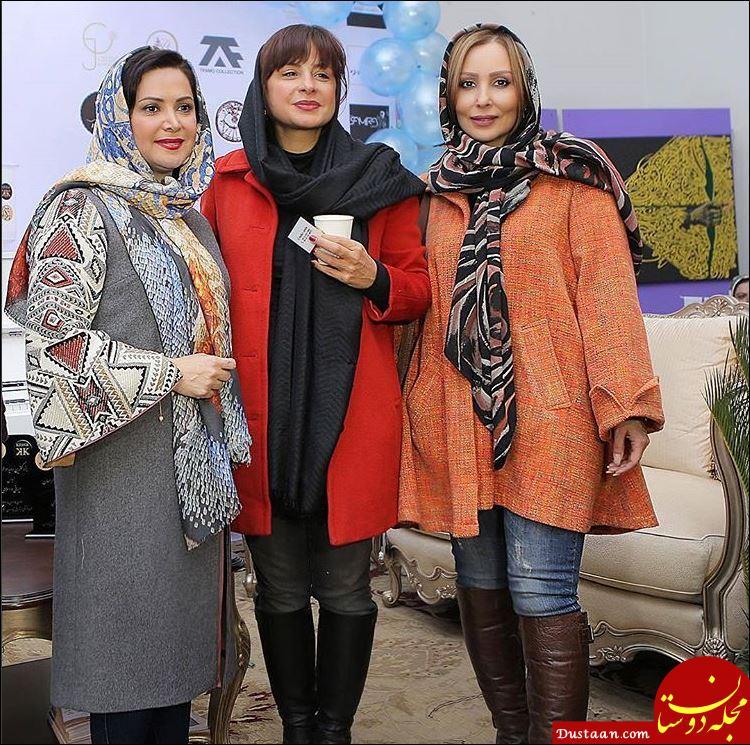 www.dustaan.com 3 بازیگر محبوب سینما در یک قاب! +عکس