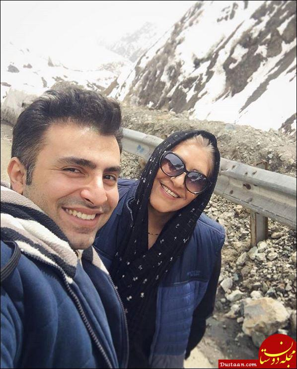 www.dustaan.com بیوگرافی و عکس های دیدنی علیرضا طلیسچی و همسرش