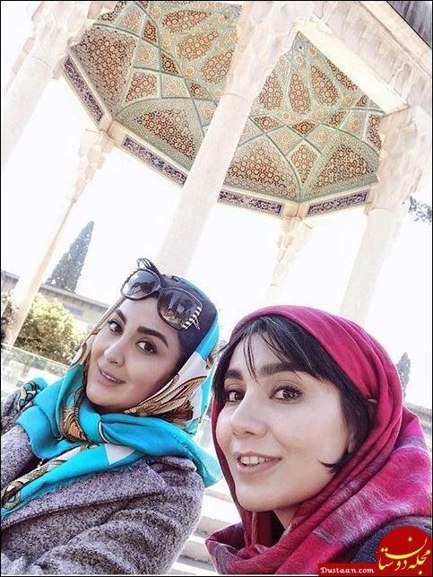 www.dustaan.com شیراز گردی مریم معصومی! + تصاویر
