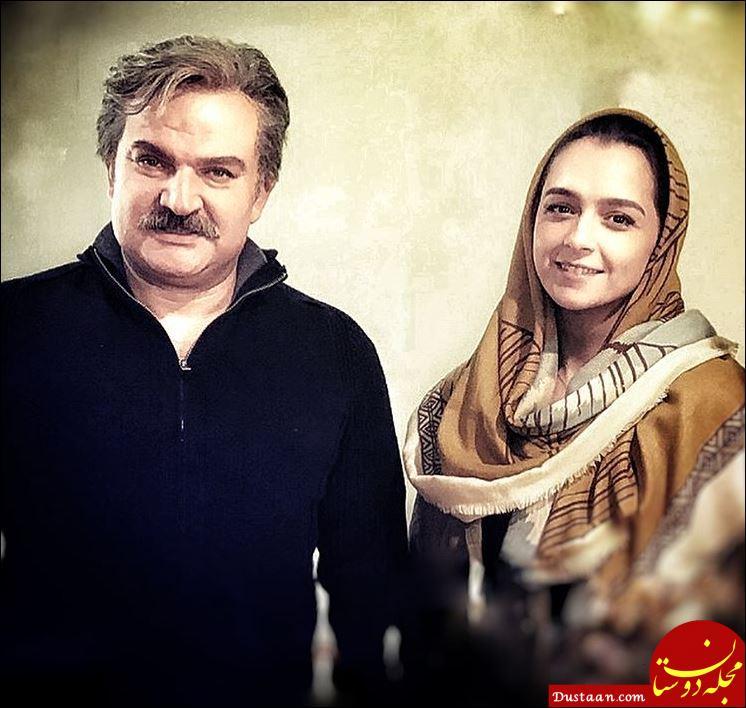 www.dustaan.com سلفی زیبای مهدی سلطانی و ترانه علیدوستی در شهرزاد +تصاویر