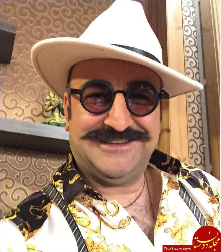 www.dustaan.com مهران احمدی با ظاهری متفاوت! +عکس