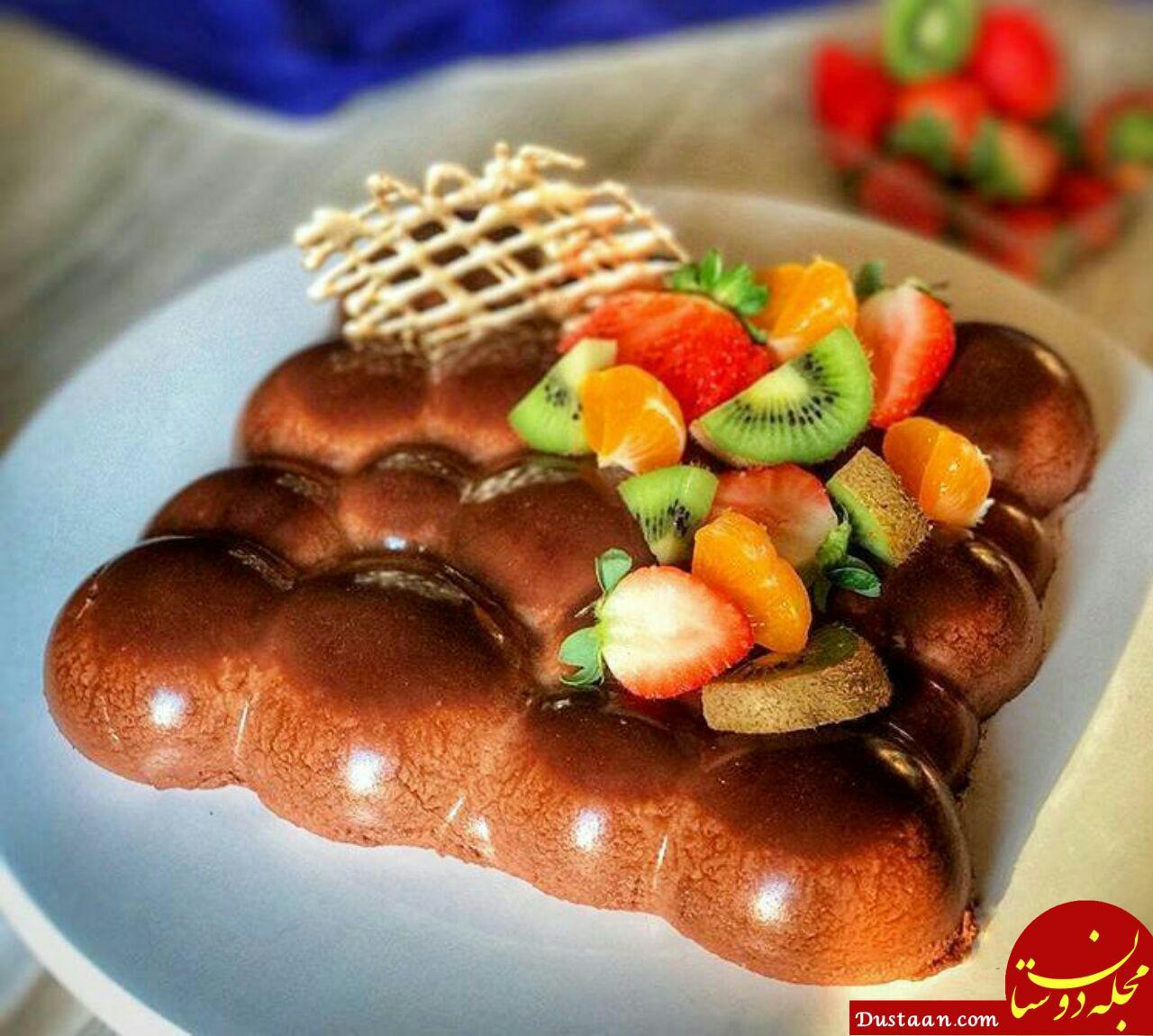 www.dustaan.com طرز تهیه موس شکلاتی به سبکی خوشمزه