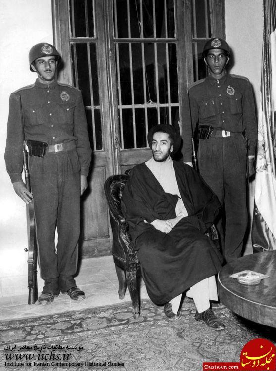 www.dustaan.com لحظه دستگیر شدن شهید نواب صفوی +عکس