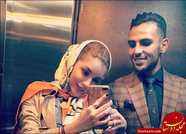www.dustaan.com مراسم ازدواج نیکی محرابی و یعقوب کریمی بازیکن سابق استقلال +تصاویر