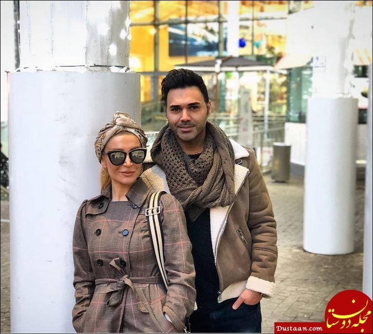 www.dustaan.com تصویری دیدنی از پوریا حیدری و خواهرش پریا +عکس