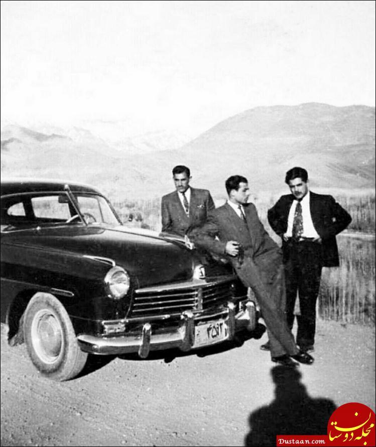 www.dustaan.com ماشین بچه پولدارهای تهران در دهه سی! +عکس