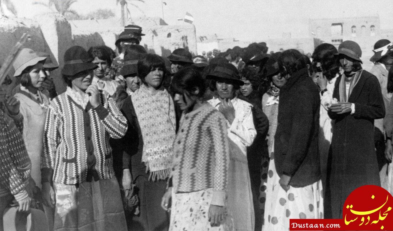 www.dustaan.com کشف حجاب اجباری زنان در سال ۱۳۱۴ +عکس