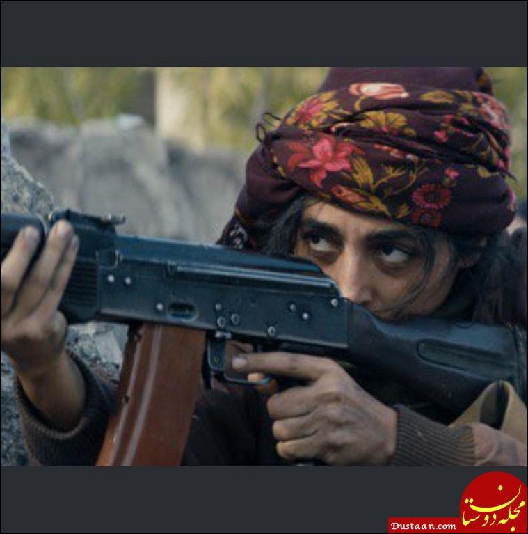 www.dustaan.com گلشیفته فراهانی تفنگ به دست شد! +عکس