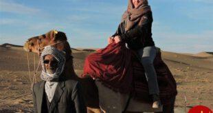 حضور گردشگران آلمانی در کویر نمکزار سه قلعه +عکس