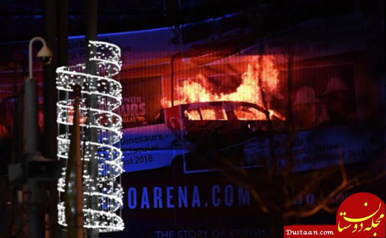 بیش از ۱۶۰۰ خودرو طعمه آتش شد! +عکس