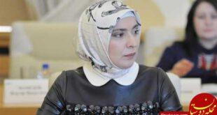 آینا گامزتوا رقیب انتخاباتی پوتین