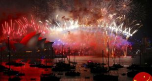 تصاویری زیبا از جشن آغاز سال نوی میلادی در سرتاسر دنیا