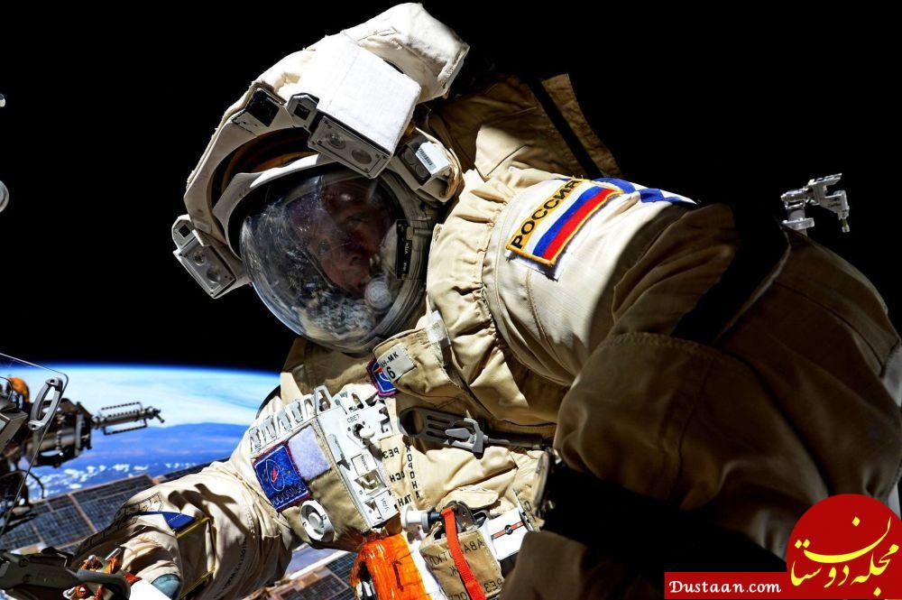 سرگی ریازانسکی فضانورد روسی در فضا