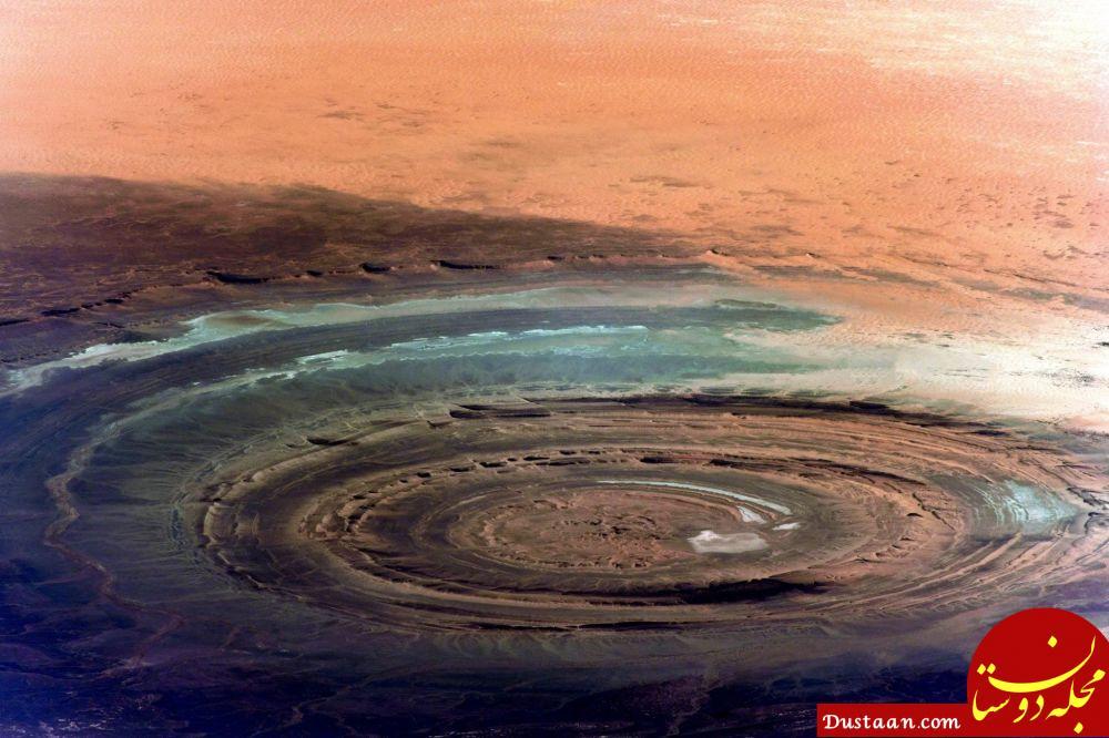 تصویری از پدیده ای با نام چشم در فضا