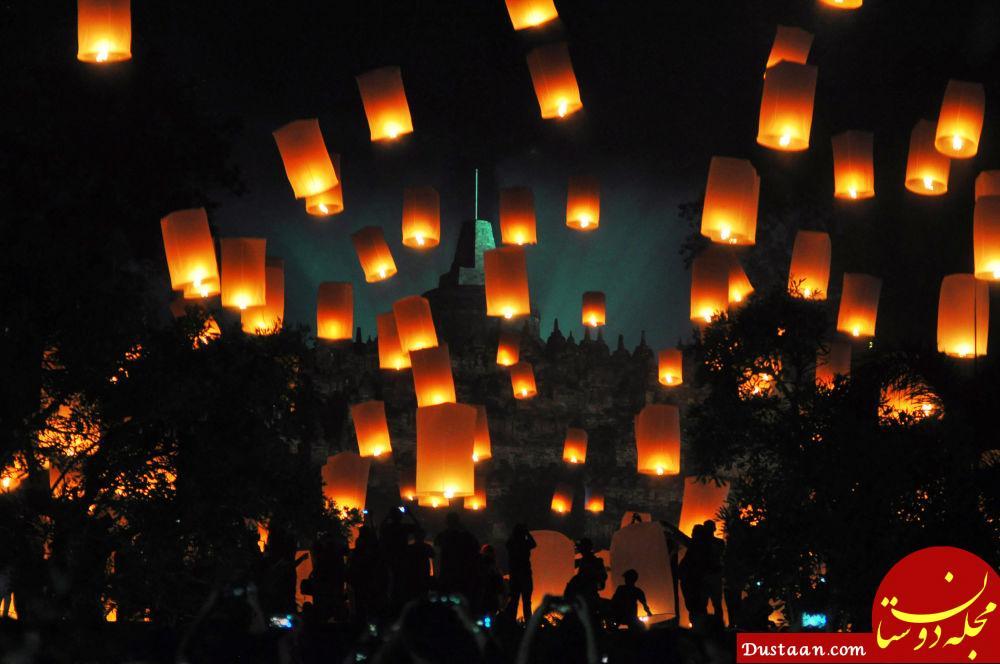 برگزاری جشن سال نو در اندونزی