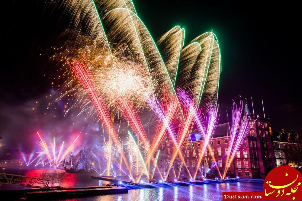 آتش بازی جشن سال نو در هلند
