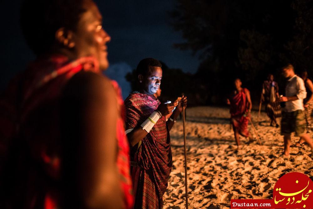 برگزاری جشن سال نو در تانزانیا