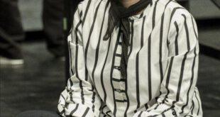 «هانیه توسلی» در نمایی از تئاتر «خشم و هیاهو»