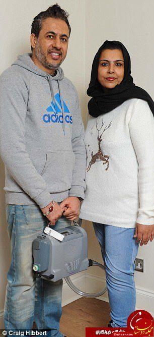 www.dustaan.com زندگی عجیب دختری مسلمان با قلبی در کوله پشتی! +تصاویر