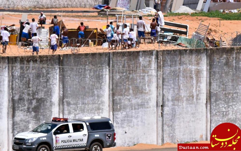 www.dustaan.com شورش زندانیان در برزیل / 9 کشته و 14 زخمی تاکنون