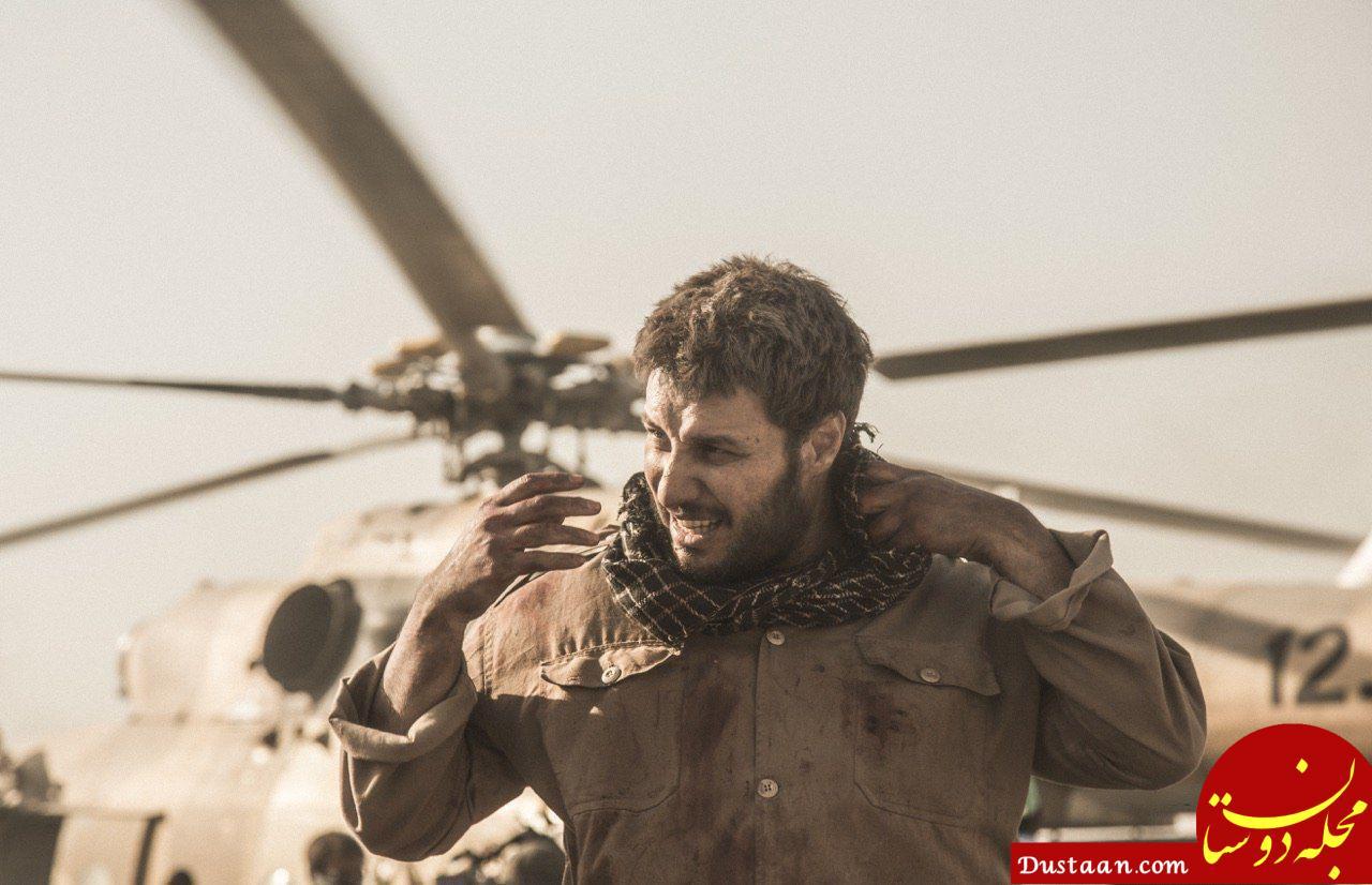 نخستین عکس جواد عزتی در «تنگه ابوقریب»