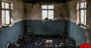 آتش زدن قرآن و چند امامزاده به دست اغتشاشگران +عکس