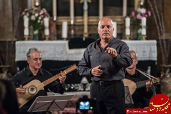 www.dustaan.com خواننده مشهور ایتالیایی در تهران می خواند