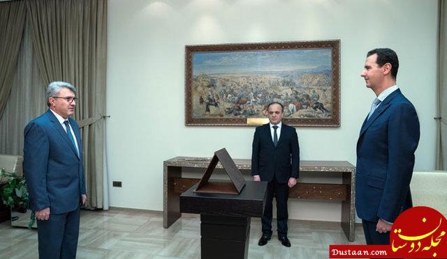 عکس: وزرای جدید سوریه در مقابل اسد سوگند یاد کردند