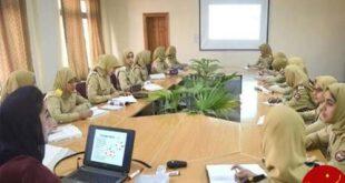تصاویری جالب از دانشکده نظامی زنان در پاکستان